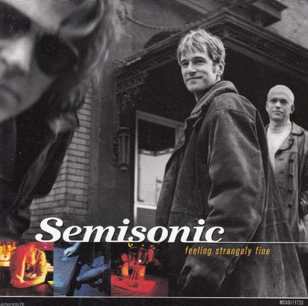 SEMISONIC Feeling Strangely Fine (CD 1998) USED